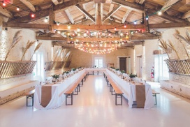 venue lighting and styling
