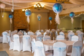 venue dressing example