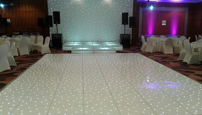 LED Dance floor hire
