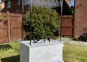 Champagne Cart Glasgow
