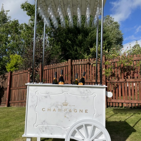 Champagne Cart Hire