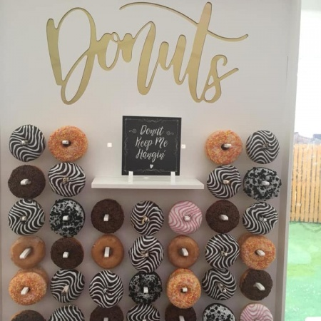 donut wall filled